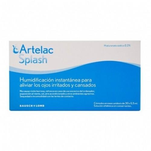 ARTELAC SPLASH EDO 30 X 0,5 ML