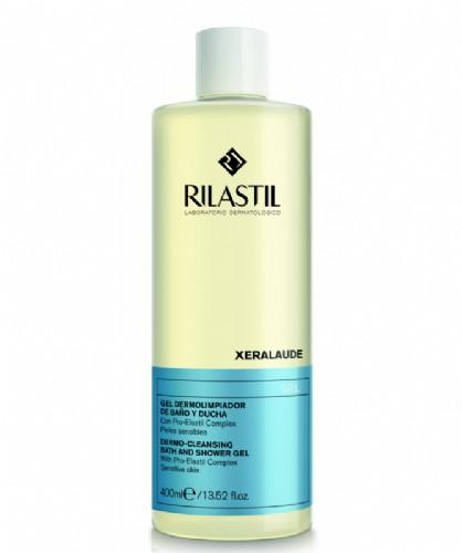 Rilastil cumlaude lab: xeralaude - gel de baño y ducha (400 ml)