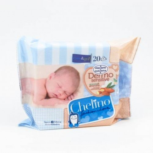 CHELINO TOALLITAS INF F&L 20UD