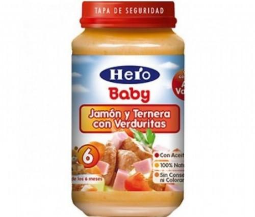 TARRO HERO VERD TERN JAMON250G