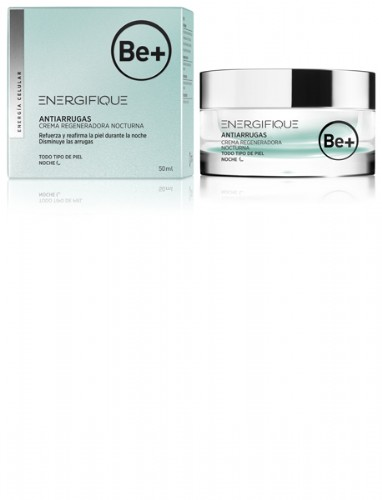 Be+ energifique antiarrugas - crema nocturna regeneradora (50 ml)