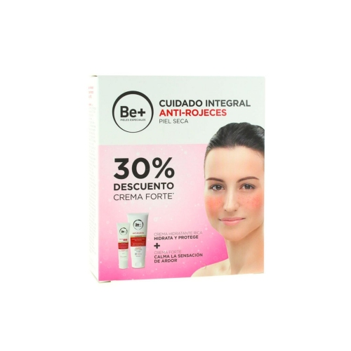 Be+ antirojeces piel normal/mixta + forte (pack 50 ml + 30 ml)