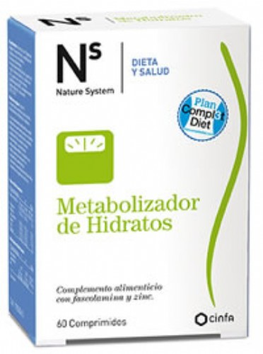 N+S METABOLIZ HIDRATOS 60 COMP