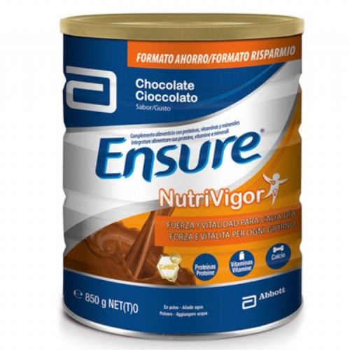 ENSURE NUTRIVIGOR CHOCOLATE POLVO 850GR