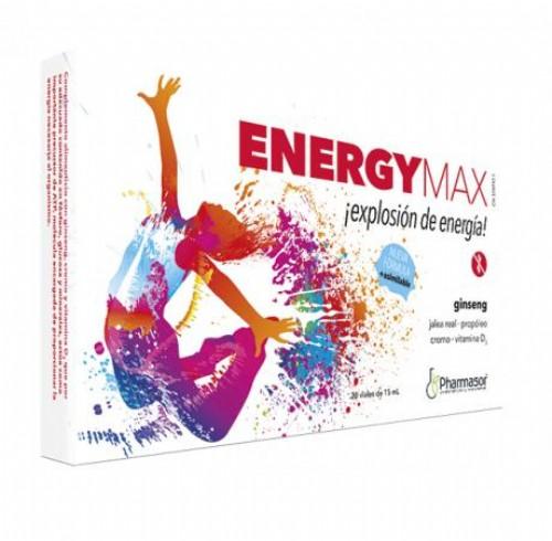 ENERGY MAX HOMEOSOR 20 VIALES