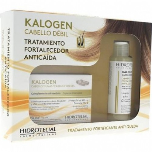 PACK KALOGEN 30 CAPS + CHAMPU FORTACELEDOR 100ML