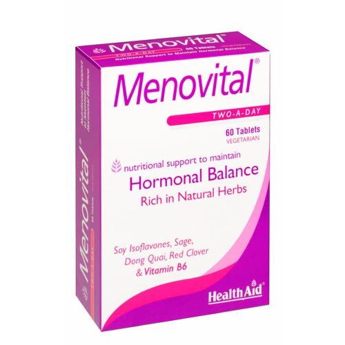 Menovital 60 tabletas         health aid