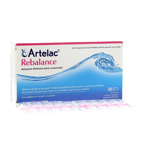 Artelac rebalance esteril gotas oculares (30 monodosis)