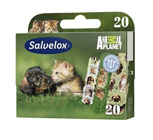 Salvelox - aposito adhesivo (animals 20 u)