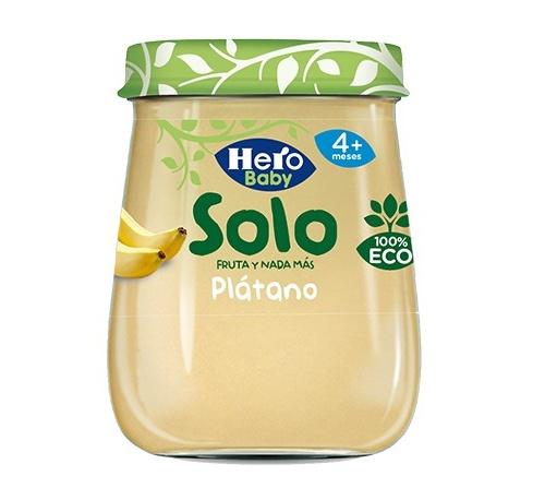 Hero baby solo platano (1 envase 120 g)