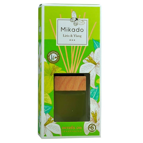 Ambientador mikado lirio-ylang 50 ml.