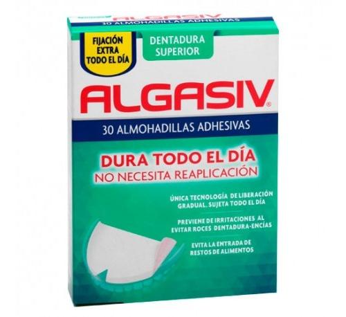 Algasiv - almohadillas adhesivas protesis (30 u superior)