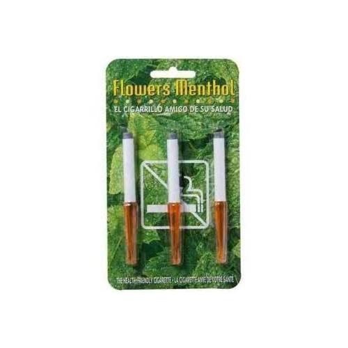 Cigarro mentol flowers 2pz 3un