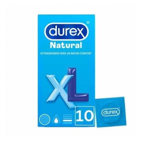 PROFIL DUREX NATURAL XL 12 UN