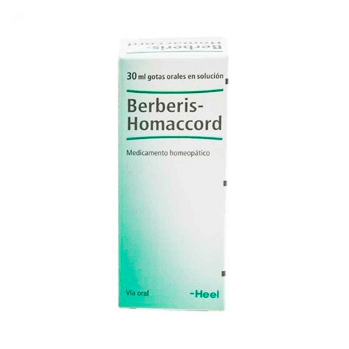 Berberis homaccord gotas  30ml      heel