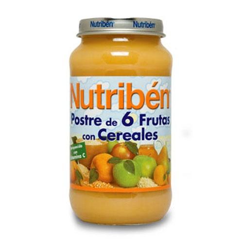 NUTRIBEN 250 POSTRE FRUTAS CER