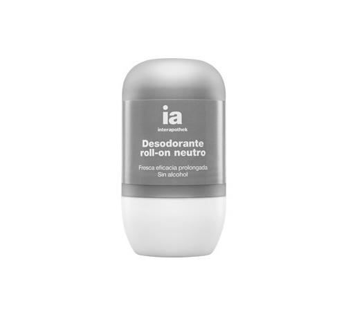 Interapothek deo desodorante neutro sin alcohol (roll-on 50 ml)