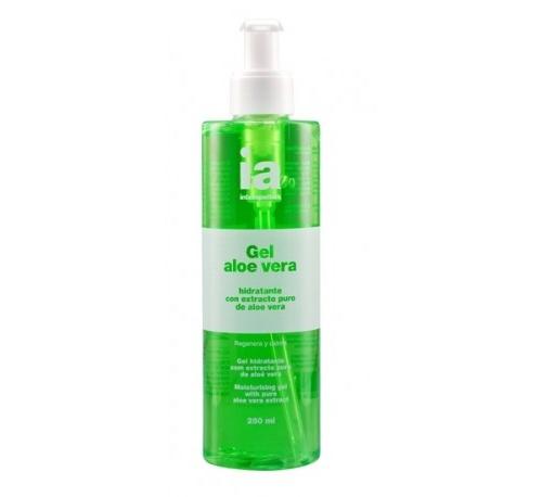 Interapothek gel hidratante puro aloe vera (250 ml)