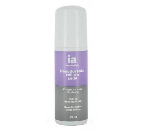 Interapothek desodorante seda (roll-on 75 ml)