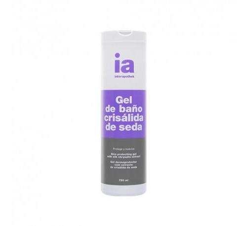 Interapothek gel de baño crisalida de seda (750 ml)