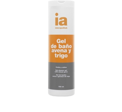 Interapothek gel de baño avena germen de trigo (750 ml)