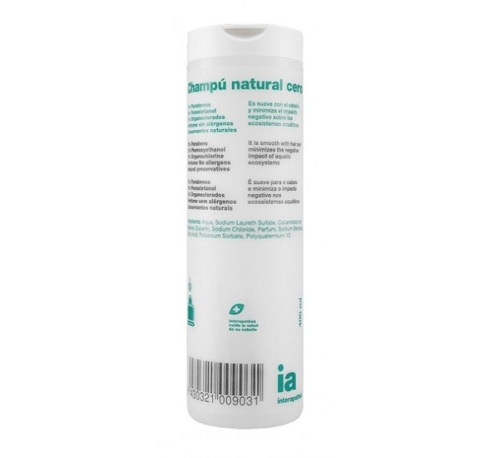Interapothek natural champu cero (400 ml)