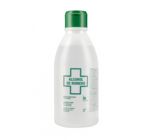 Interapothek alcohol de romero (250 ml)