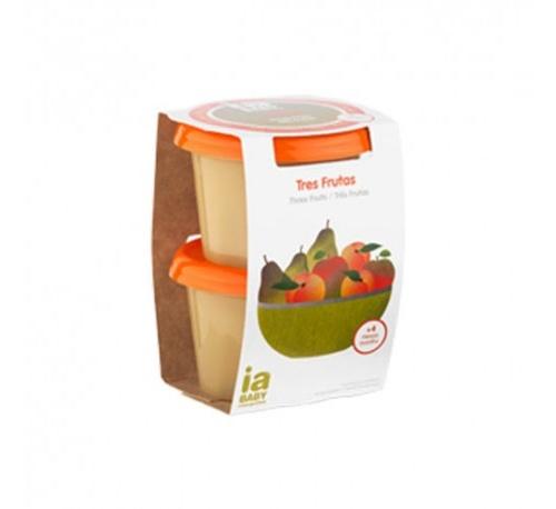 Interapothek ia baby tres frutas (200 g 2 u)