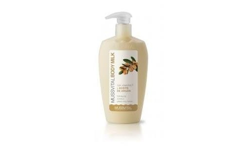 MUSSVITAL BODY MILK CON ACEITE DE ARGAN 300 ML