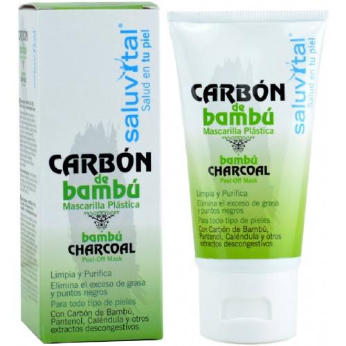 Saluvital mascarilla de carbon de bambu (50 ml)