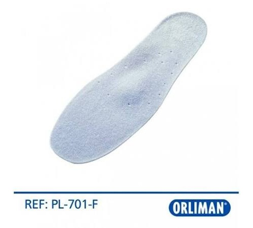 Plantilla silic forrada fina t.2 39-40 pl701f