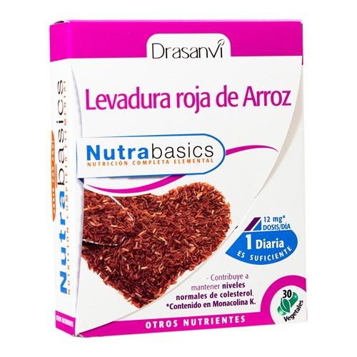Levadura roja arroz 30caps nutrabas dras