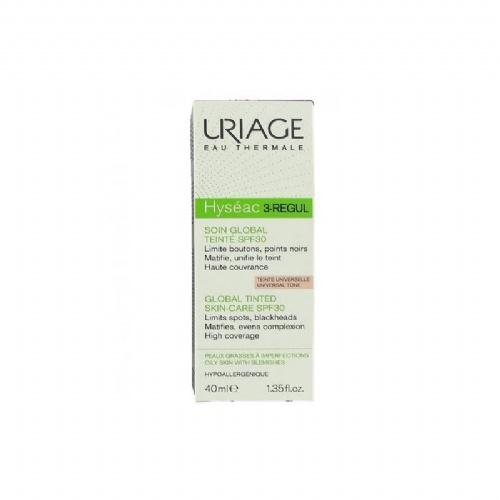 Hyseac 3 regul cuidado global spf30 con color - uriage (40 ml)