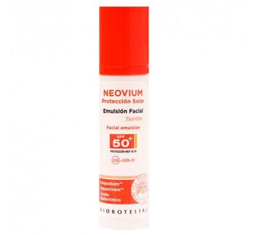 Hidrotelial neovium spf 50+ emulsion facial (teinte 50 ml)