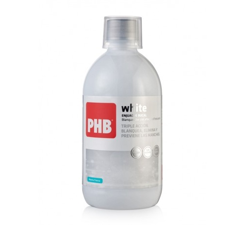 PHB WHITE ENJUAGUE 500 ML