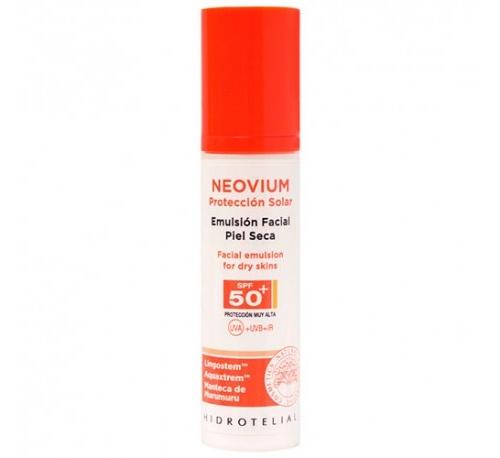 Hidrotelial neovium emulsion facial piel seca spf50+ (50 ml)