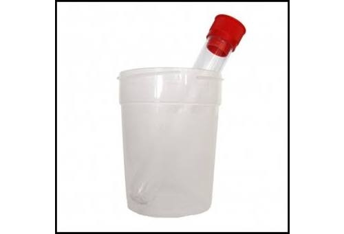 Sistema de recogida muestras orina+tubo - acofar (1 unidad)