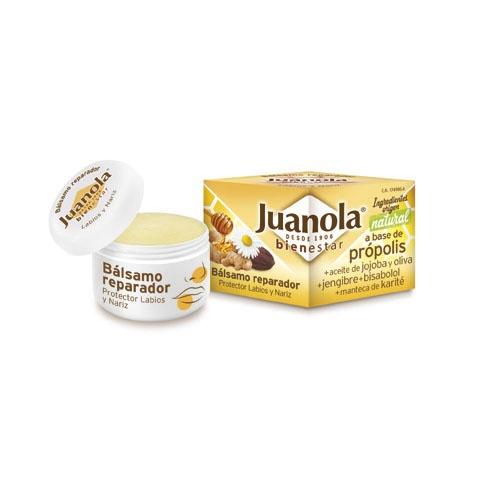 Juanola balsamo reparador de labios y nariz (15 g)