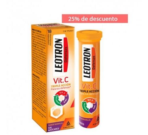 LEOTRON VIT C 18 COMP