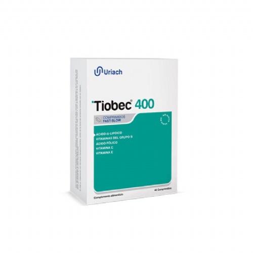 Tiobec 400 (40 comprimidos fast slow)