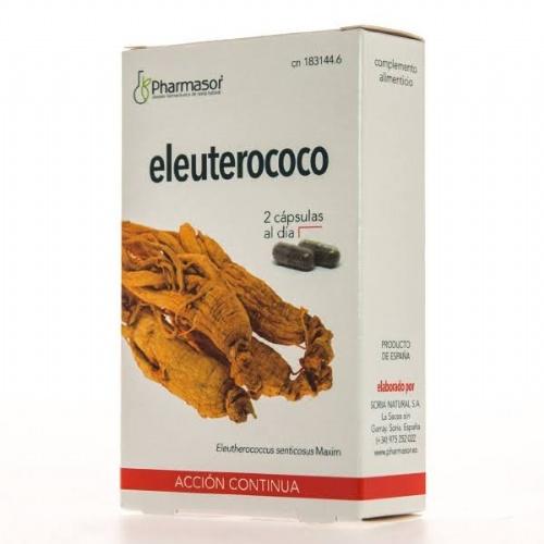 Eleuterococo accion continua  soria natural (690 mg 30 caps)