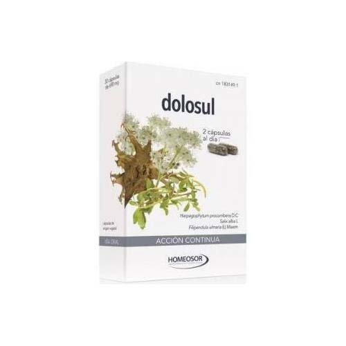 Dolosul accion continua (690 mg 30 capsulas)