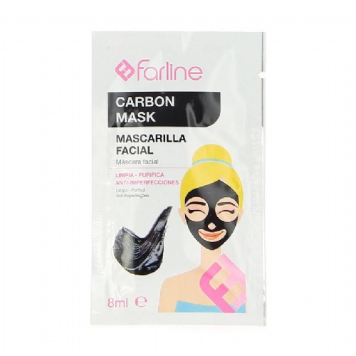 Farline mascarilla facial carbon mask (crema 8 ml)