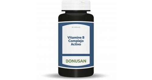 Vitamina b complejo bonusan 60 com