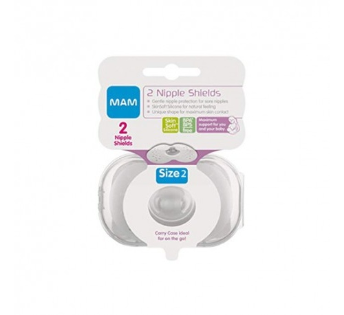 Pezonera silicona - mam nipple shields (2 u t- m-gde)