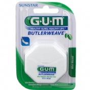 Gum-1855 dental - seda con cera (mentolada 54,8 m)