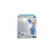 Guantes desechables de nitrilo - peha-soft nitrile fino (t- peq 10 u)