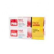 Phb total pasta dentifrica (75 ml +75 ml)