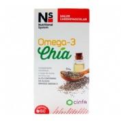Ns omega 3 chia (60 caps)