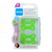Chupete silicona - mam comfort nu (0+ m pack doble)